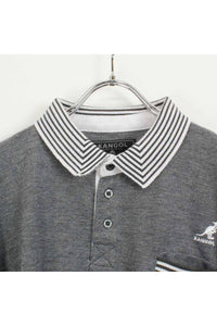 S/S POLO SHIRT / GREY【SIZE:XXL USED】【金沢店】