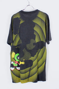 90'S LOONEY TUNES S/S T-SHIRT / BLACK/YELLOW [SIZE:L USED] [金沢店]