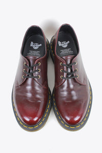 3HOLE LEATHER SHOES / WINE RED [SIZE: US9(27cm相当) DEAD STOCK]