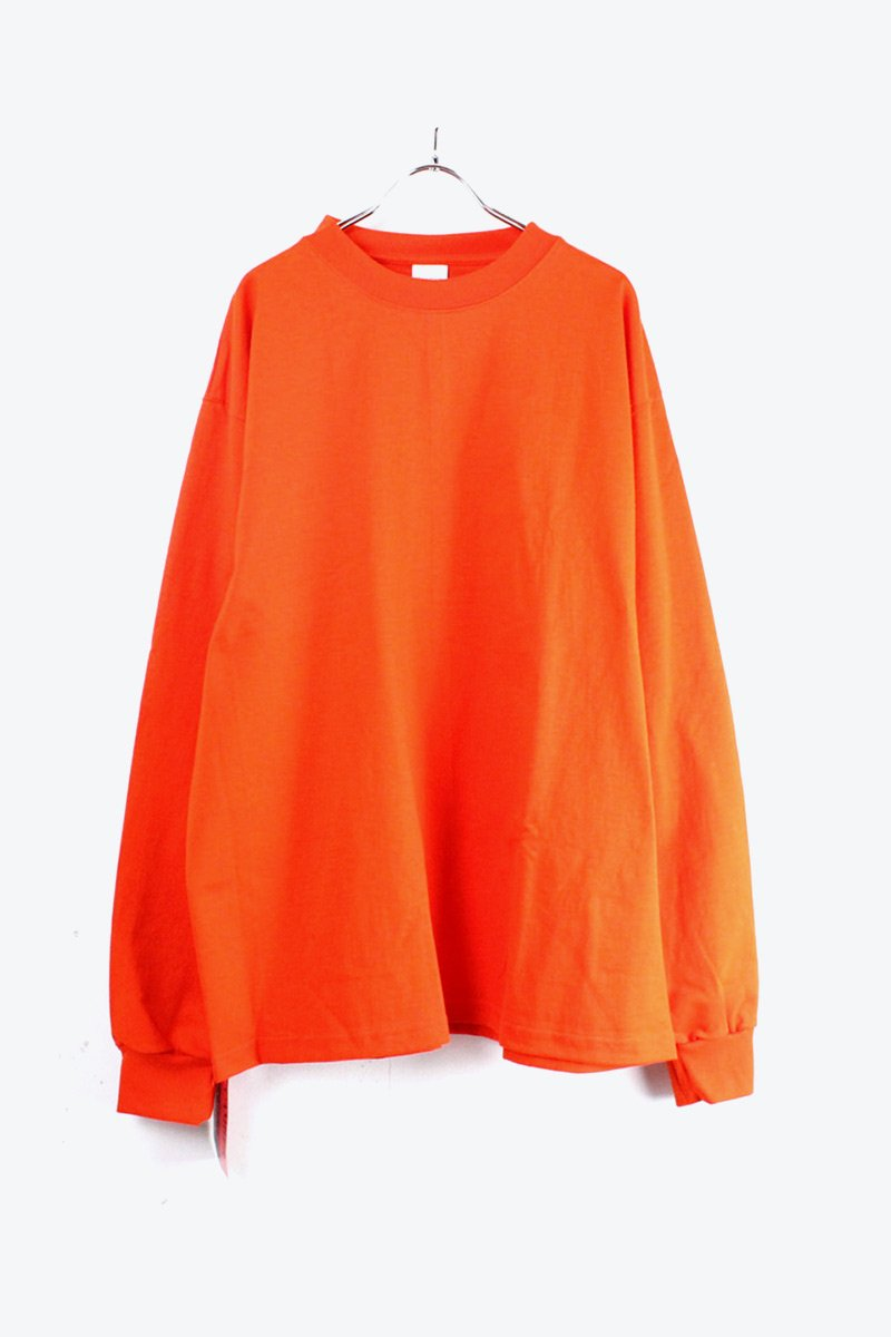 MADE IN USA #305 8OZ MAX WEIGHT L/S T-SHIRT / ORANGE