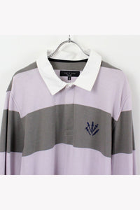 L/S BUEDER RUGGER SHIRT / PURPLE GRAY [SIZE: M USED][金沢店]