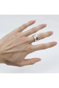 SILVER RING [SIZE: 18号相当 USED][金沢店]
