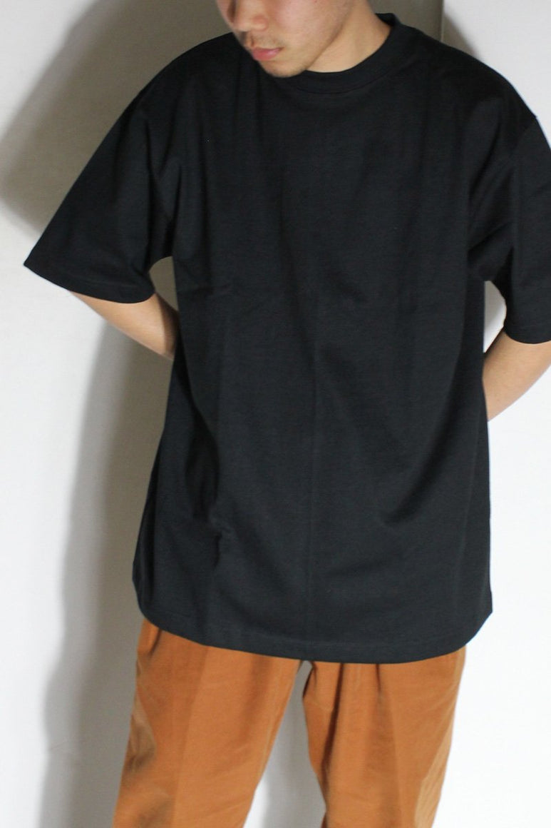 MADE IN USA #301 8OZ MAX WEIGHT S/S T-SHIRT / BLACK