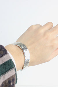 MADE IN MEXICO 925 SILVER BANGLE【SIZE:O/S USED】【金沢店】
