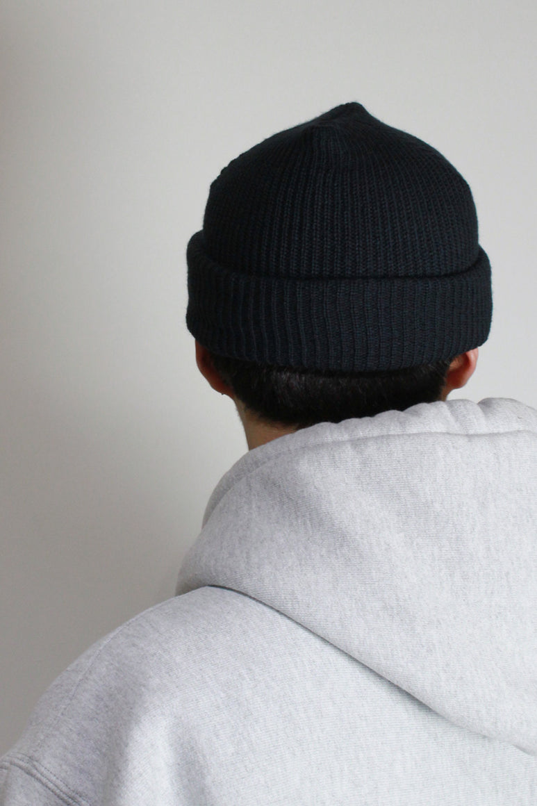 MADE IN USA ACRTLIC WATCH KNIT CAP / NAVY