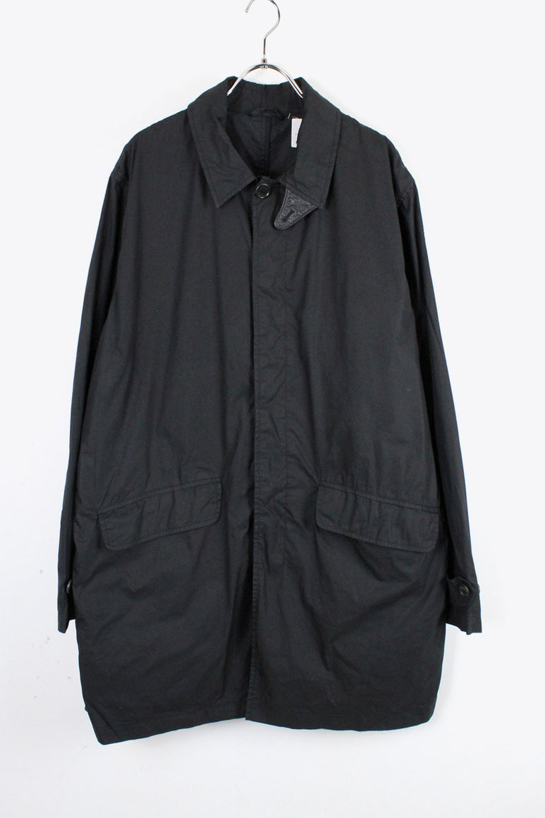 MADE IN PORTUGAL BALMACAAN SHELL COAT / BLACK [SIZE: L USED] [金沢店]