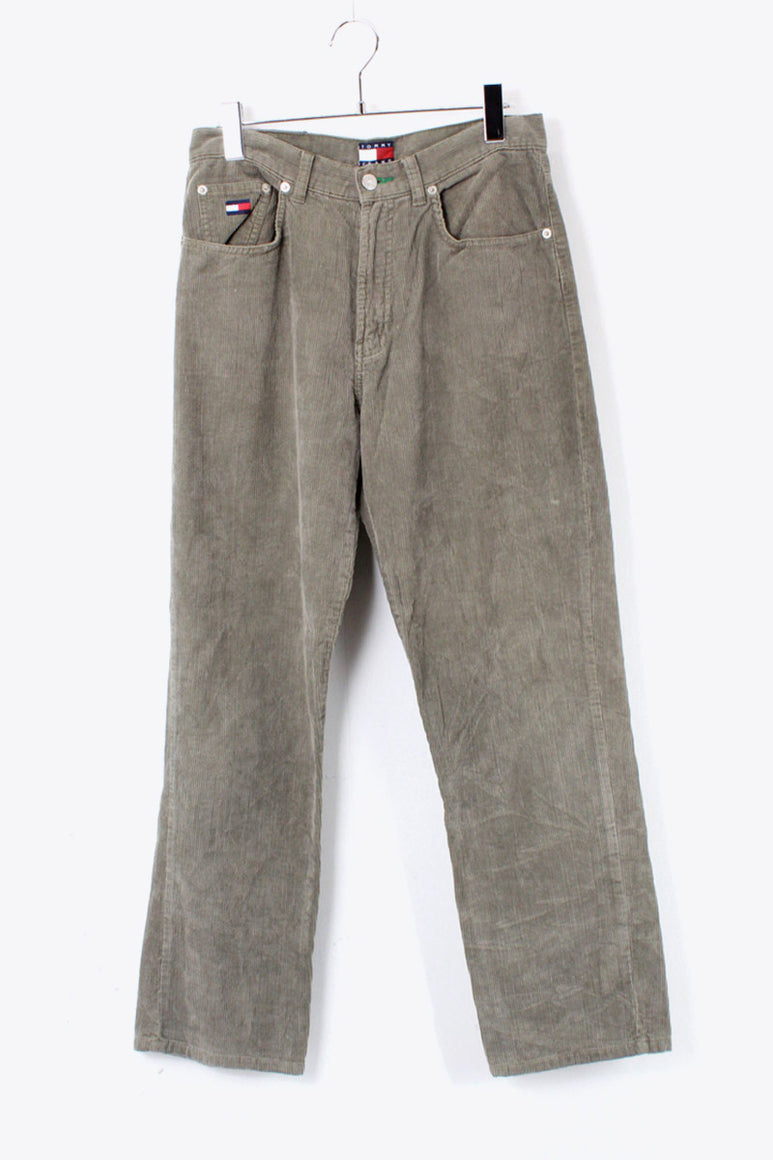 90'S CORDUROY PANTS / GREY [SIZE: 30 USED] [金沢店]