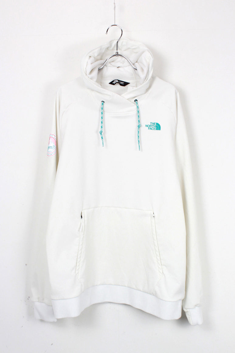 EXPEDITION ANTARCTICA 2017 NYLON HOODIE / WHITE [SIZE: M USED]