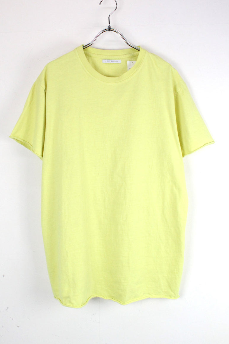 S/S TEE SHIRT / NEON YELLOW [SIZE: M相当 USED][金沢店]
