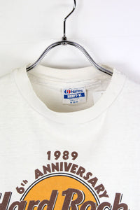 MADE IN USA 80'S HARD ROCK TOKYO S/S T-SHIRT / WHITE [SIZE: M USED][金沢店]