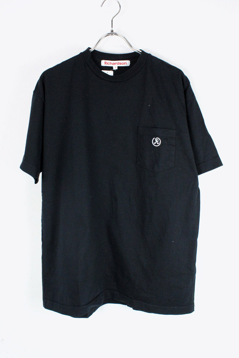 MADE IN USA S/S POCKET T-SHIRT / BLACK [SIZE: 3 USED][金沢店]