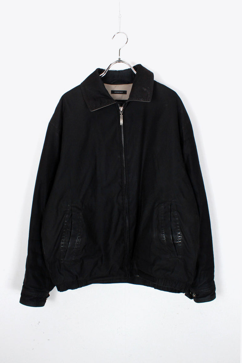 90'S ZIP SWING TOP / BLACK [SIZE: S USED]