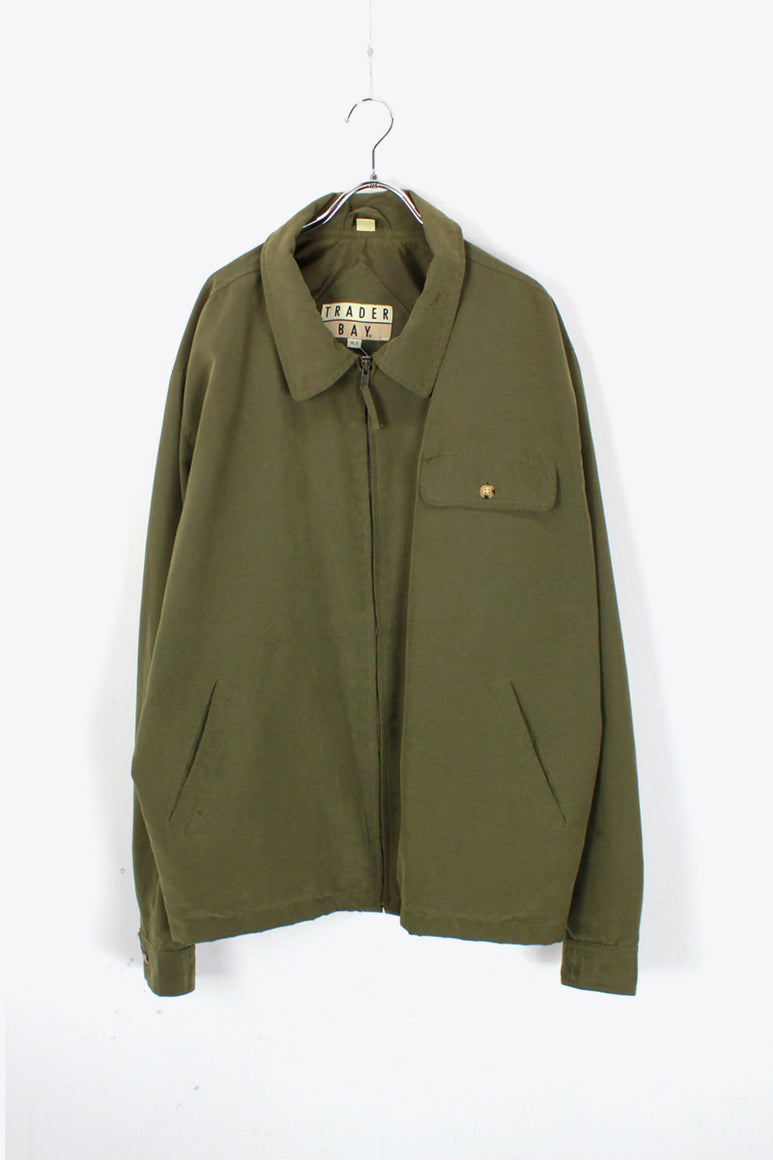 90'S ZIP SWING TOP / KHAKI [SIZE: XL USED]