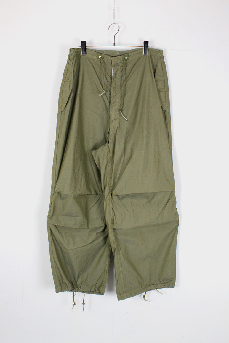GI SNOW PANTS OVERDYE / OLIVE DRAB [SIZE: S/R USED]