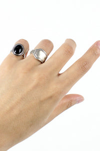 925 SILVER RING [SIZE:11号相当 USED]
