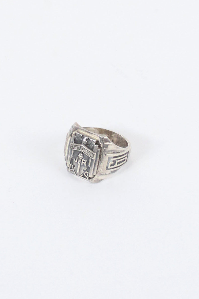 925 STERLING SILVER RING [SIZE:9号相当 USED]