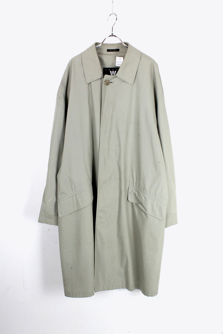 BALMACAAN COAT / PALE MINT [SIZE: M USED]