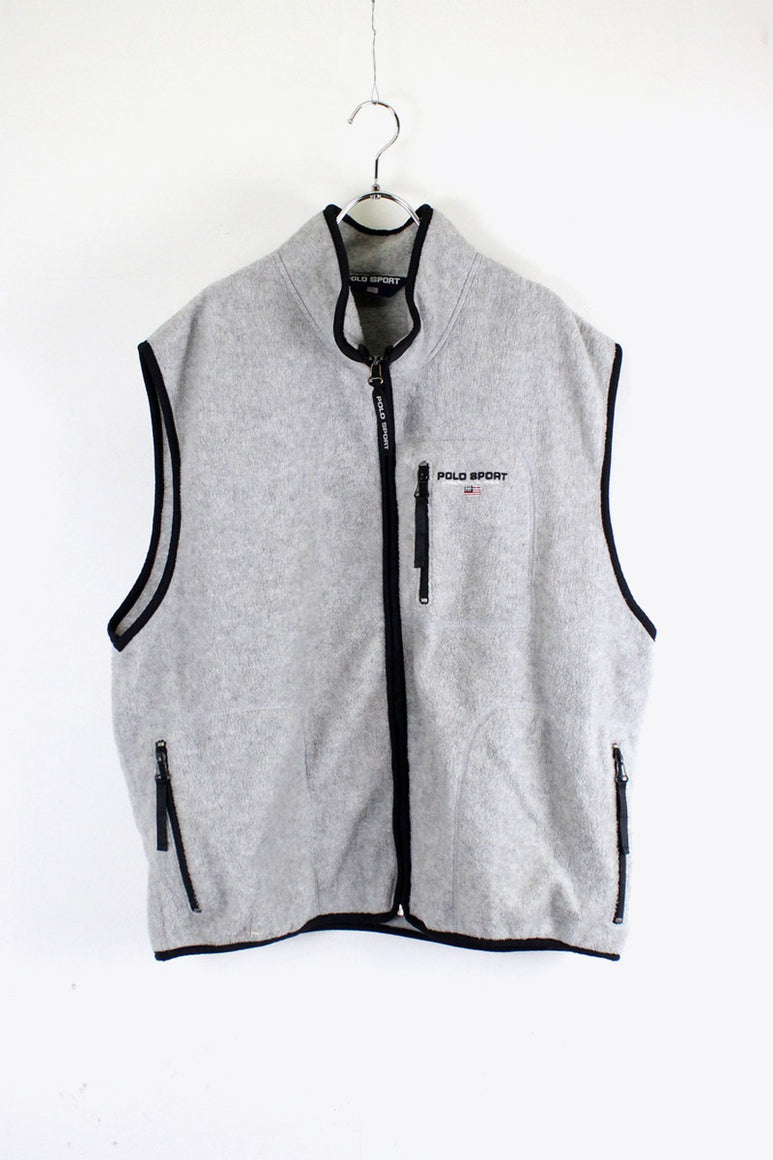 90'S FLEECE VEST [SIZE: 2XL USED]
