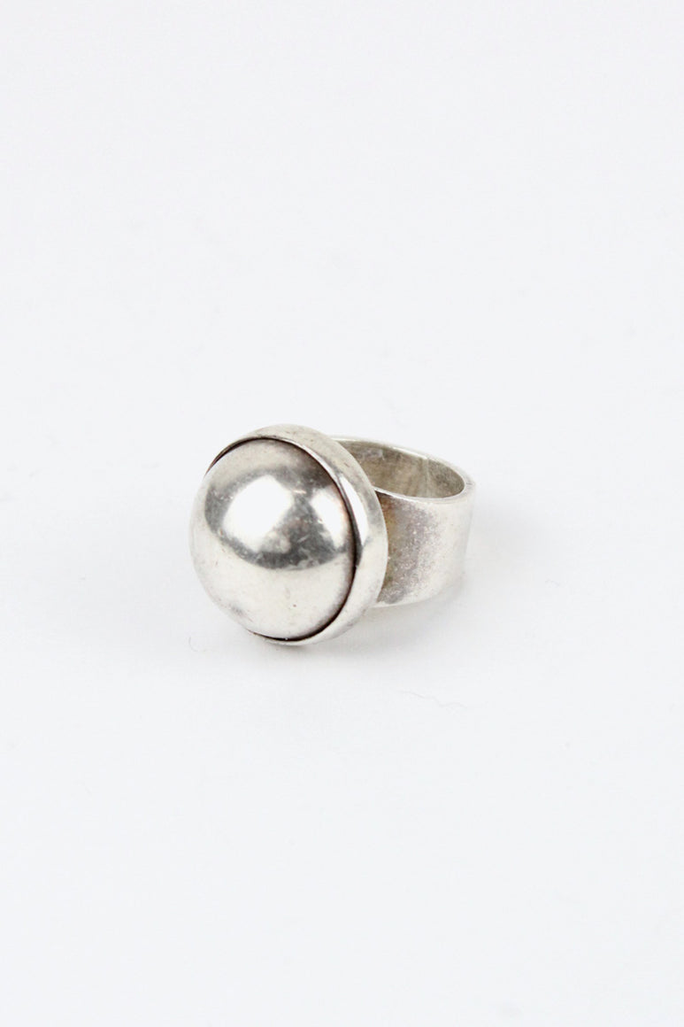 MADE IN MEXICO 925 SILVER RING [SIZE: 11号相当 USED]
