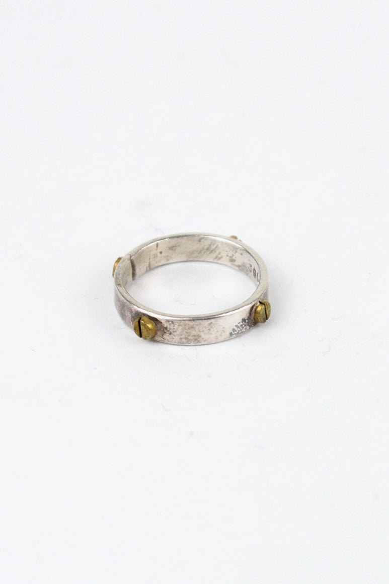 MADE IN MEXICO 925 SILVER RING [SIZE: 14号相当 USED]