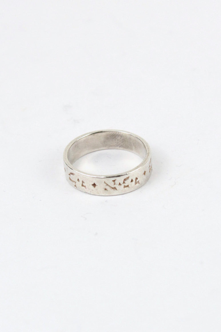STERLING SILVER RING [SIZE: 12号相当 USED]