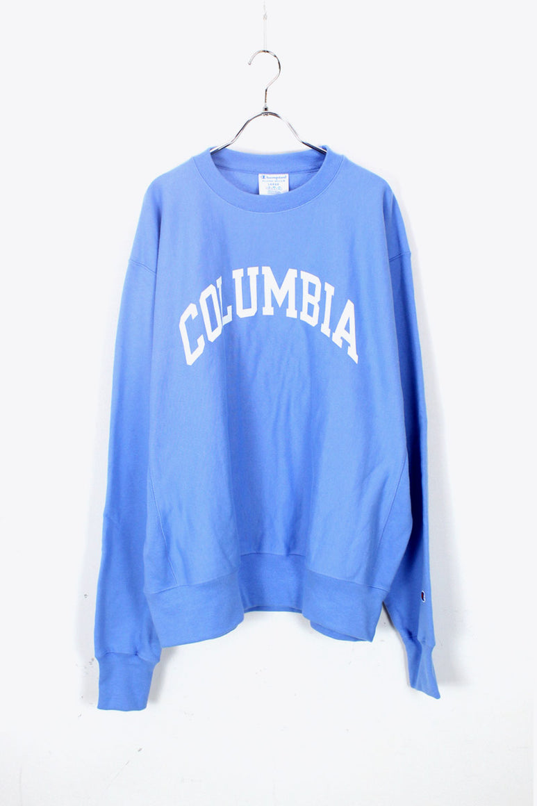 COLUMBIA UNIVERSITY REVERSE WEAVE CREW SWEAT SHIRT 日本未発売モデル / LIGHT BLUE [NEW]