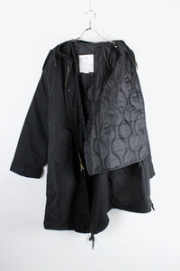 M-51 FISHTAIL PARKA / BLACK [NEW]