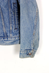 MADE IN USA 80'S DENIM JACKET / INDIGO [SIZE: M相当 USED]