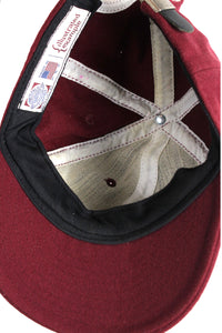 MADE IN USA WOOL CAP / WINE RED [SIZE:ONE SIZE USED]