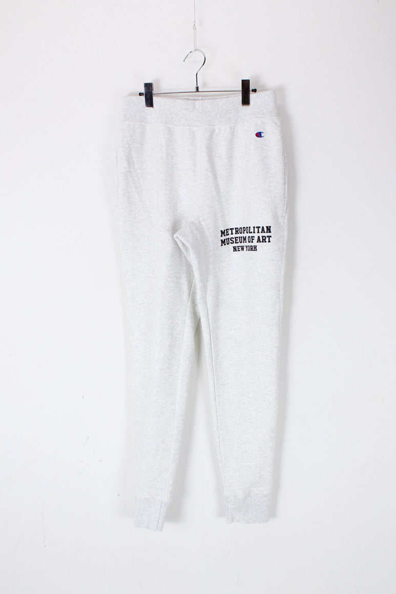 METROPOLITAN MUSEUM OF ART NEW YORK REVERSE WEAVE SWEAT PANTS / HEATHER GRAY [日本未発売モデル][NEW]