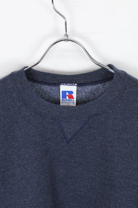CREW NECK SWEAT SHIRT / CHARCOAL [SIZE: L USED]