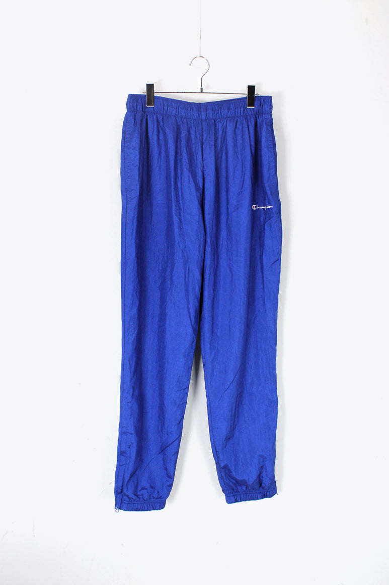 NYLON PANTS / BLUE [SIZE: L DEAD STOCK]