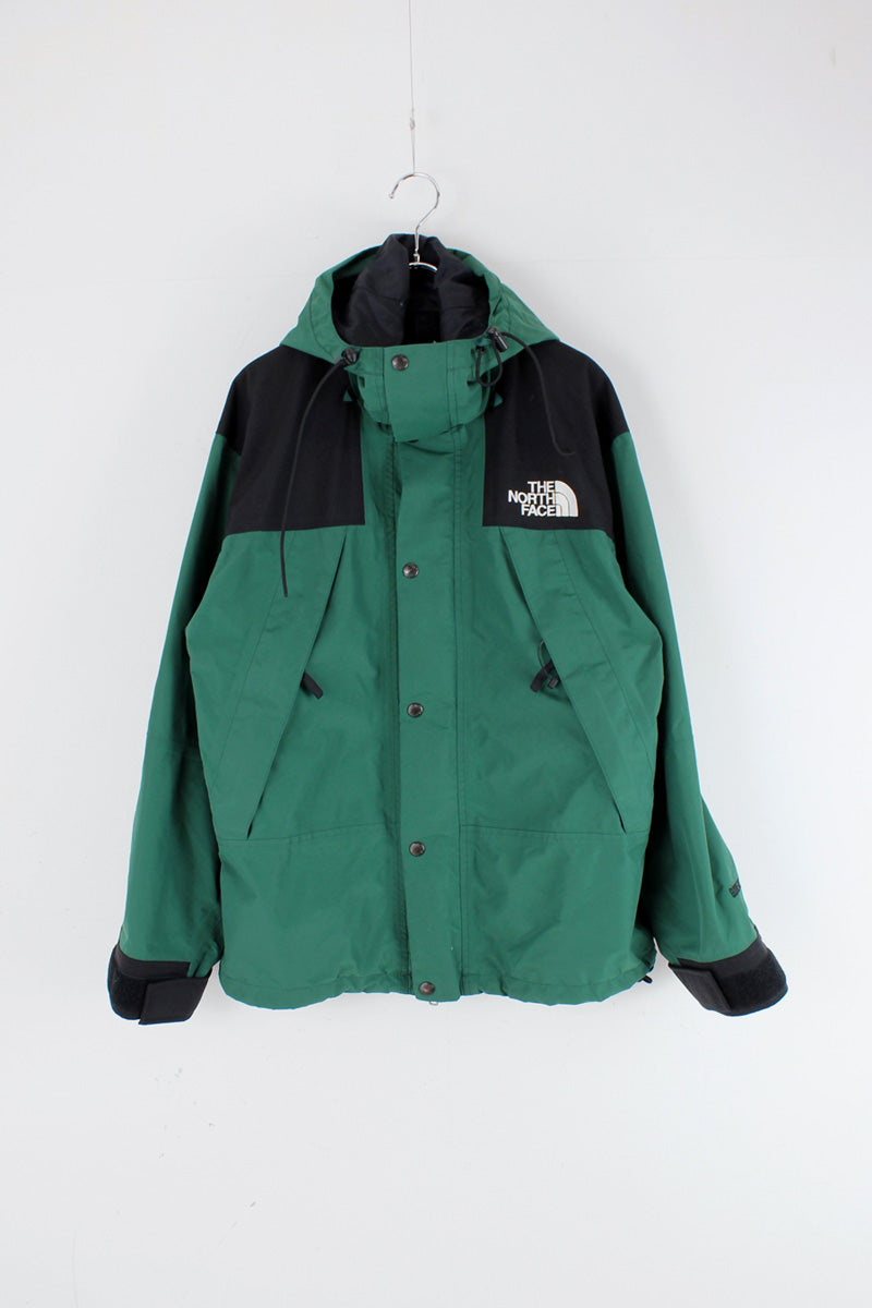 90'S GORE-TEX SHELL JACKET / GREEN/BLACK [SIZE: S USED]