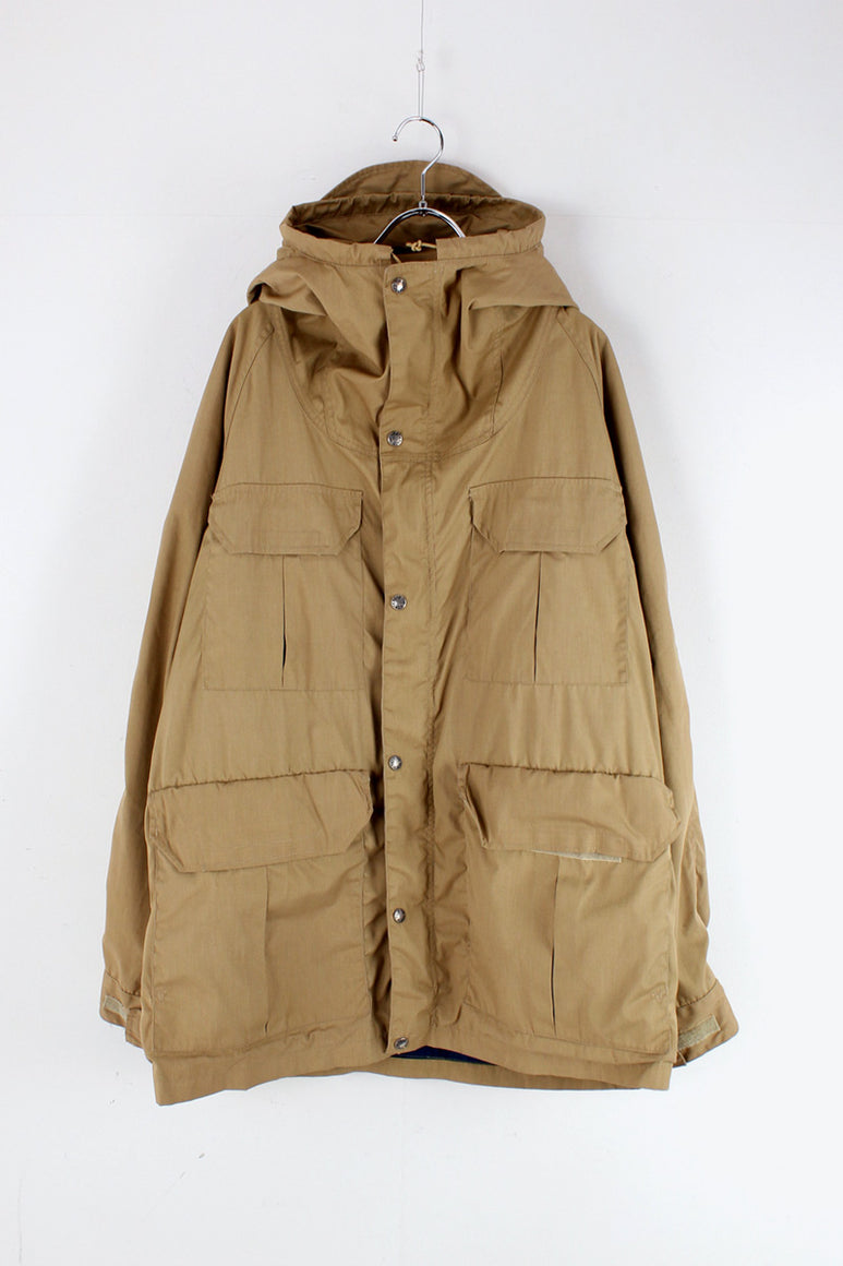 MADE IN USA 70'S MOUNTAIN PARKA / BEIGE [SIZE: XL USED]