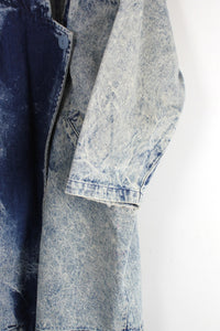 90'S DENIM COAT / INDIGO STONE WASH [SIZE: L相当 USED]