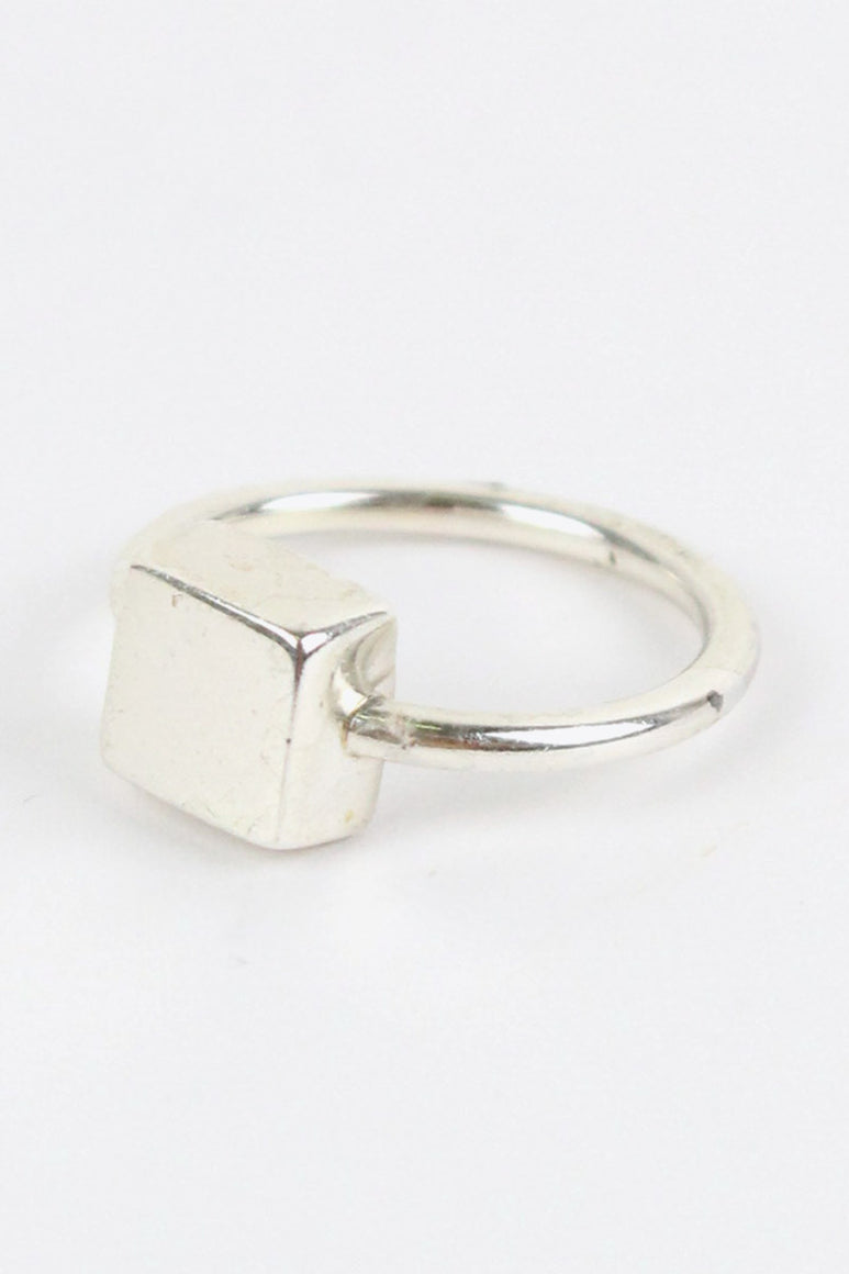 925 SILVER RING / SILVER [SIZE:10号相当 USED][金沢店]