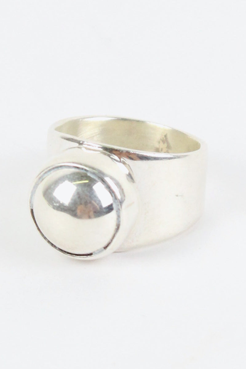 MADE IN MEXICO 925 SILVER RING / SILVER [SIZE:13号相当 USED][金沢店]