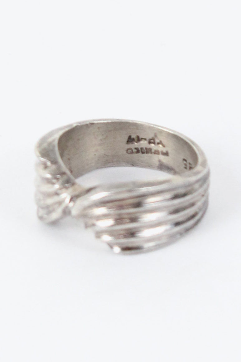MADE IN MEXICO 925 SILVER RING / SILVER [SIZE:16号相当 USED][金沢店]