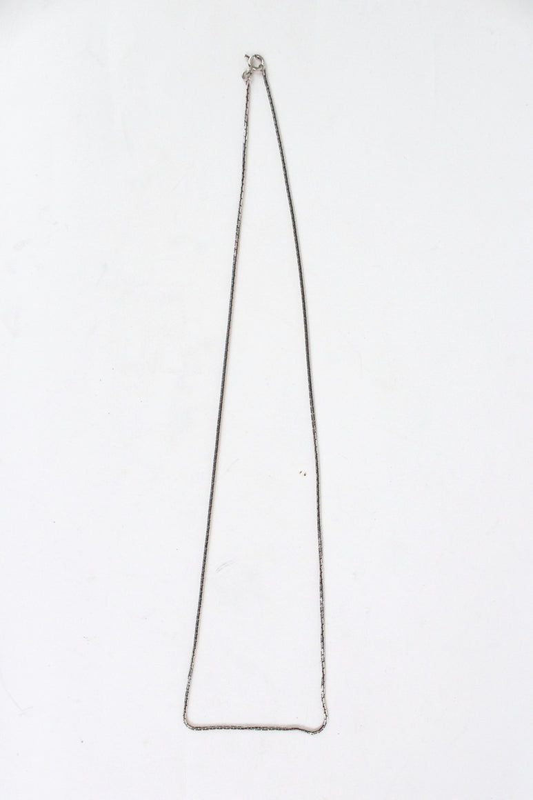 925 SILVER NECKLACE CHAIN [SIZE: ONE SIZE USED][金沢店]
