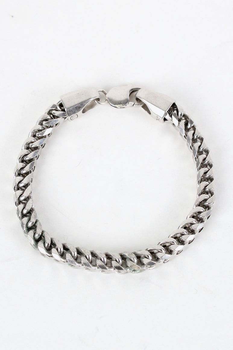 MADE IN ITALY 925 SILVER BRACELET [SIZE: ONE SIZE USED][金沢店]