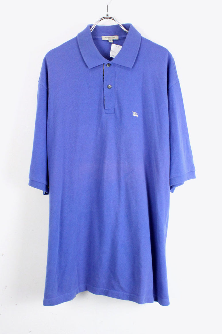 S/S POLO SHIRT / BLUE [SIZE:XL USED][金沢店]