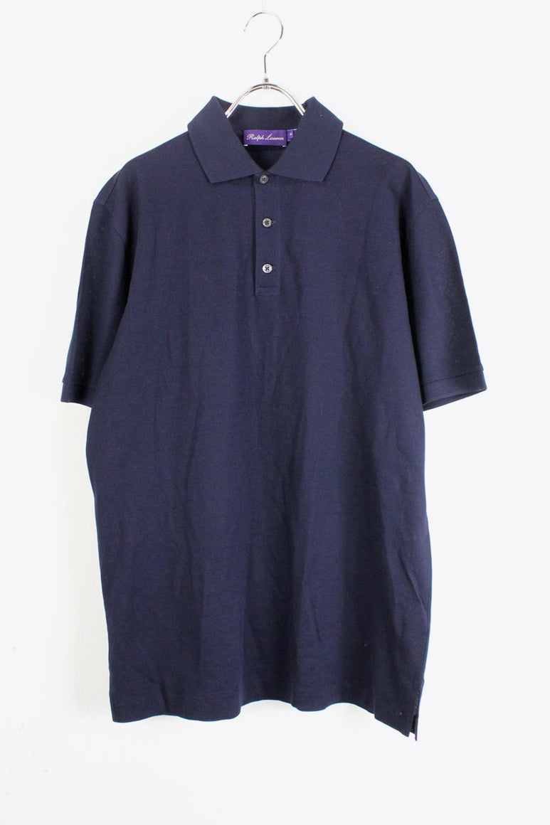 MADE IN ITALY S/S POLO SHIRT / NAVY [SIZE:M USED][金沢店]