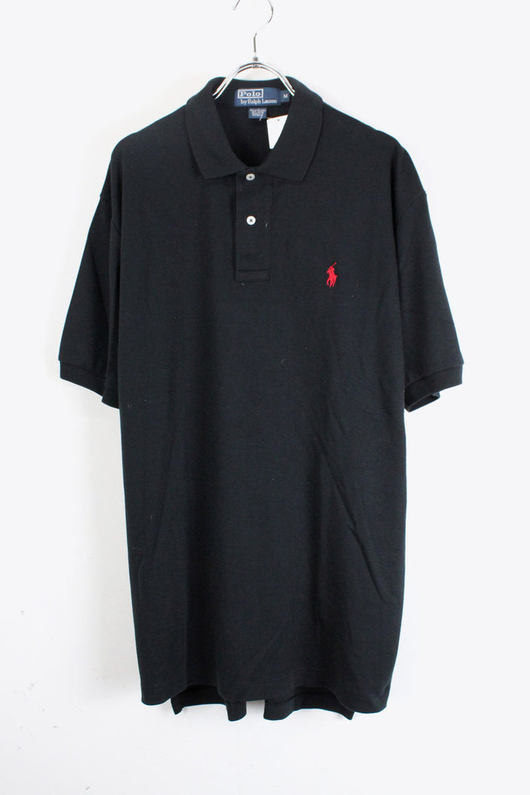 S/S POLO SHIRT / BLACK [SIZE:M USED][金沢店]