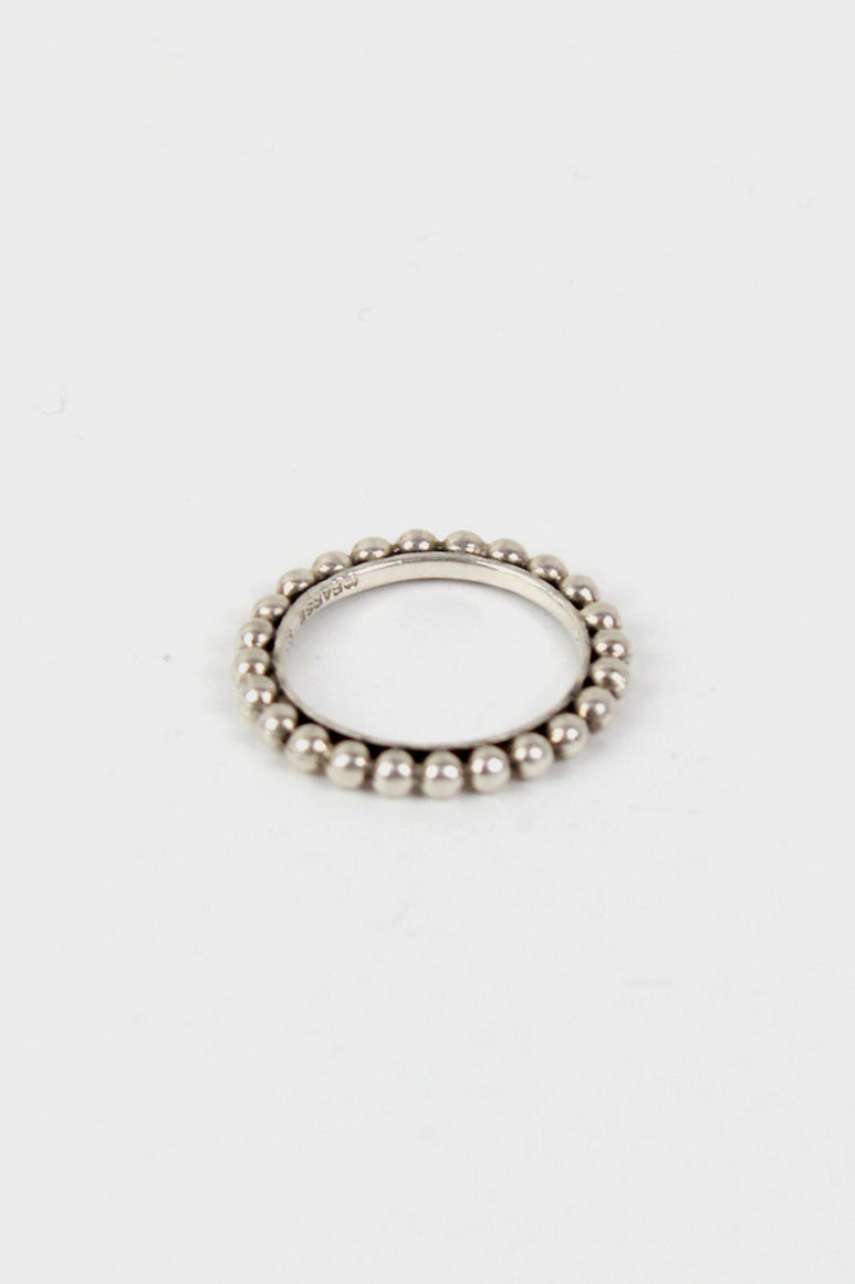 925 SILVER RING [SIZE: 16号相当 USED]