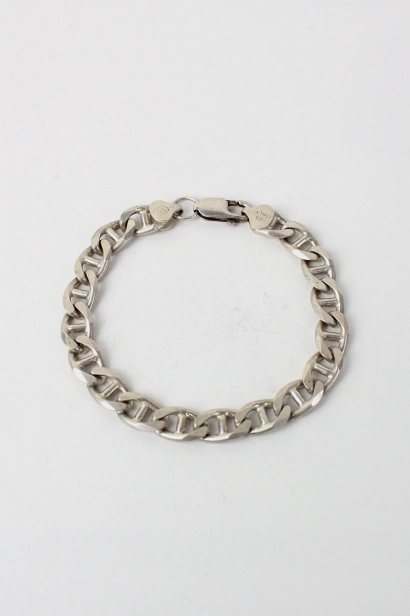 MADE IN ITALY 925 SILVER BRACELET [ONE SIZE USED]
