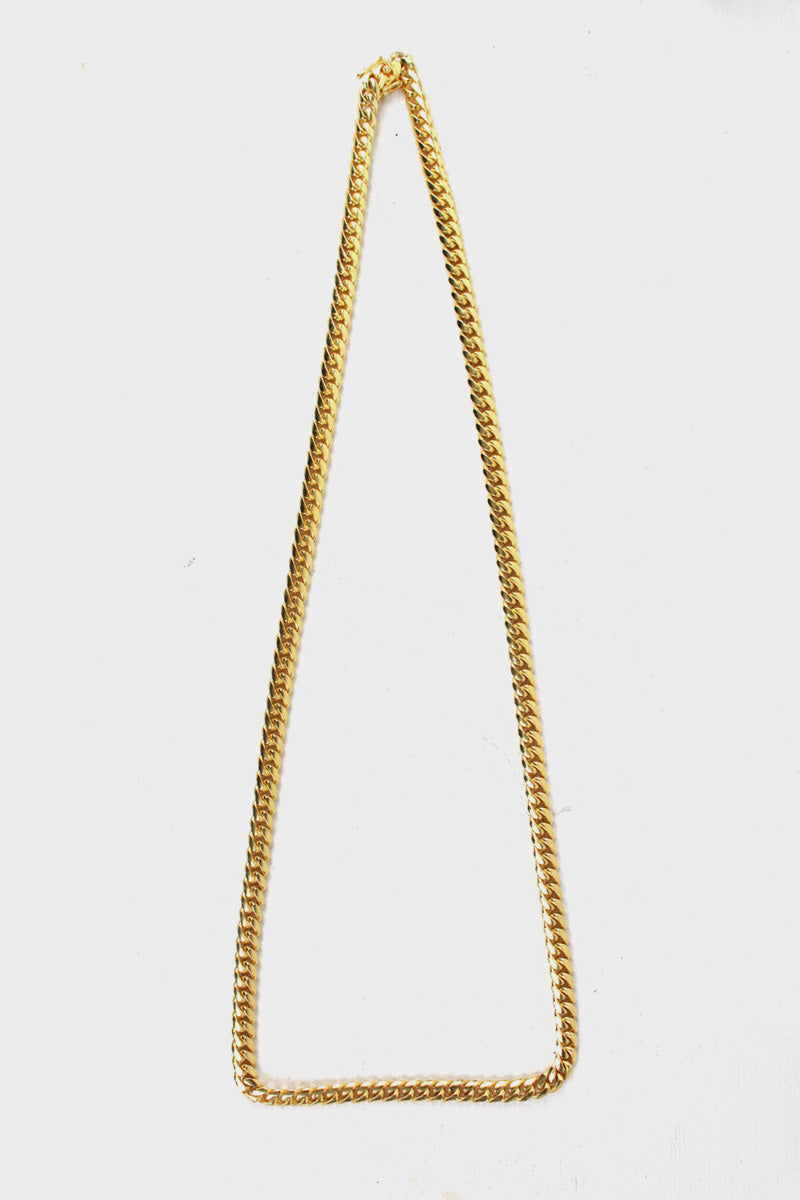 GOLD / SILVER NECKLACE [ONE SIZE USED]