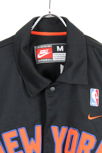 NY KNICKS BASKETBALL SHIRT USA企画品 / BLACK [SIZE:M USED][金沢店]
