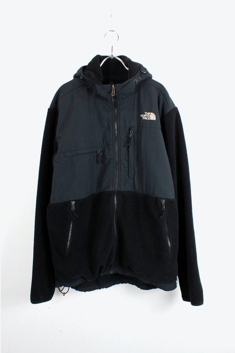 90'S DENALI FLEECE HOODIE JACKET / BLACK [SIZE: L USED]