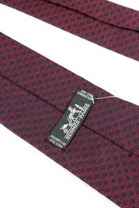 MADE IN FRANCE SILK NECKTIE / NAVY/RED [SIZE: O/S USED][金沢店]