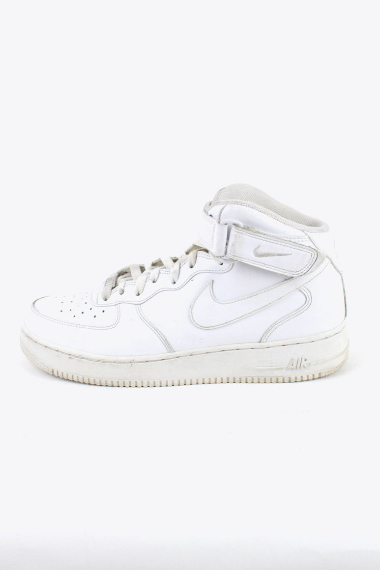 AIR FORCE 1 MID / WHITE [SIZE: US9.5 (27.5cm相当) USED][金沢店]